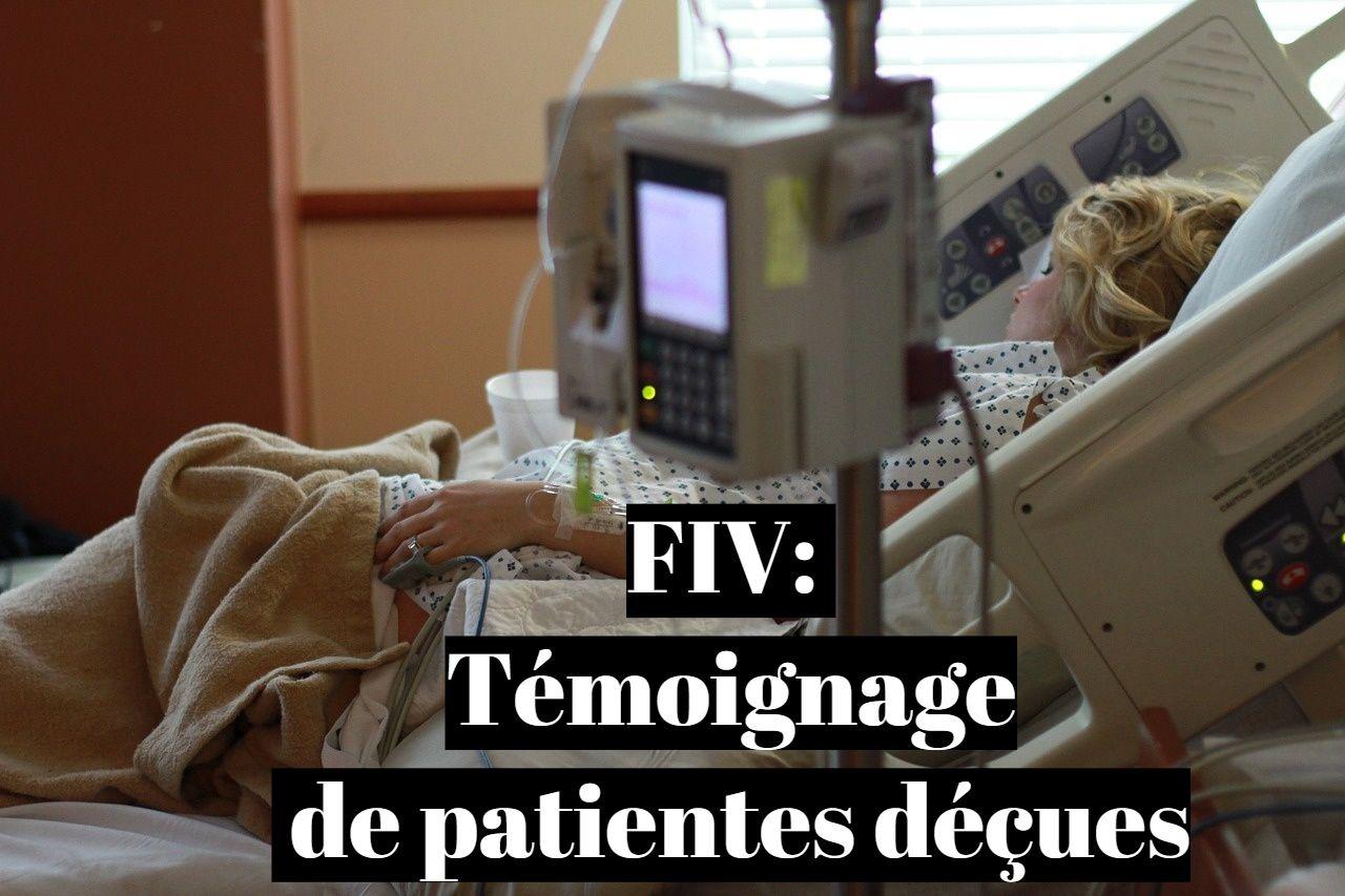 FIV: Témoignage de patientes déçues